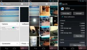 Android 4.2 Fotogaleria